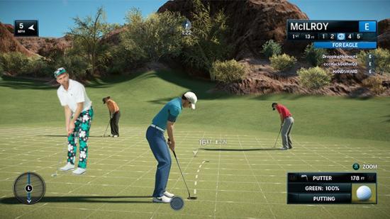 Paddy Par Rory McIlroy PGA Tour