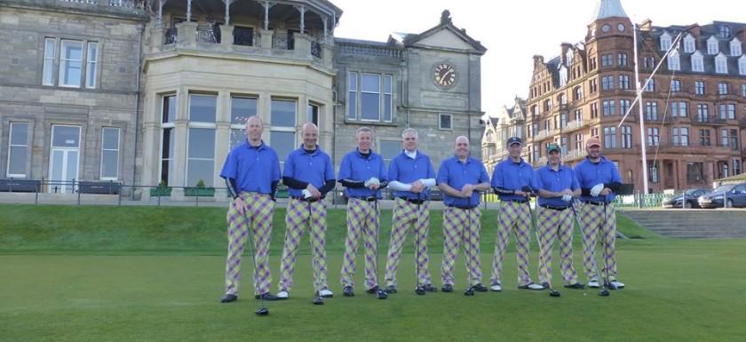 Crazy Golf Pants at St Andrews