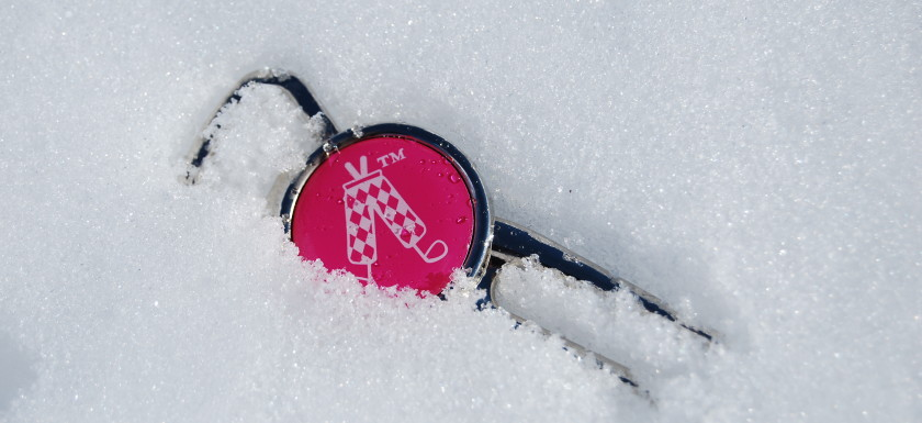 Winter Warrior - Golf tool in the snow