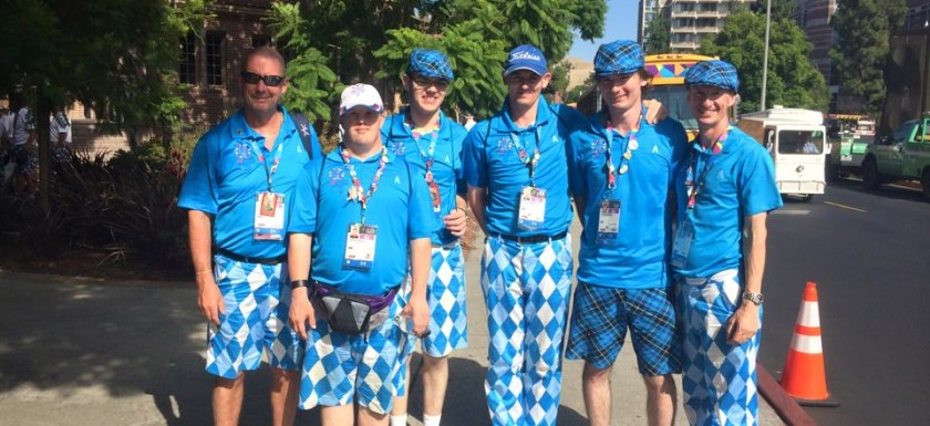 Special Olympics - Team GB in Old Toms Trews