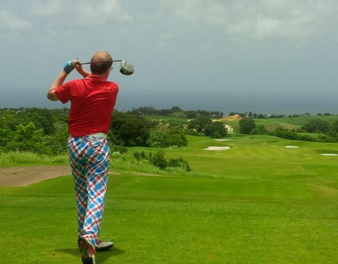 Roger Southam: Crazy Golf Pants